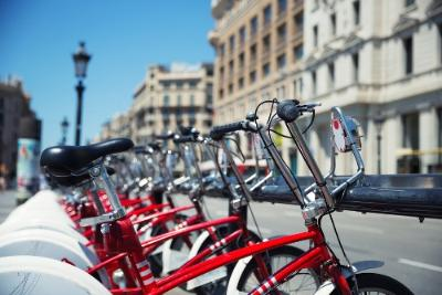 Barcelona Spain Attractions Bike Tour