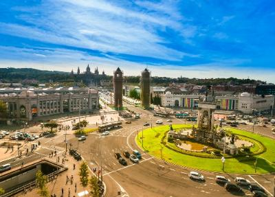 Barcelona Spain Attractions Hop On Hop Off Bus Tour