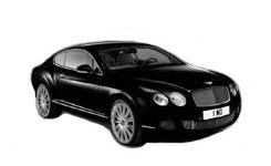 Exotic Car Rental Featured Bentley Continental GTC