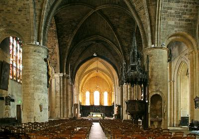 Bordeaux, France Attractions: Basilique Saint Seurin by Auto Europe