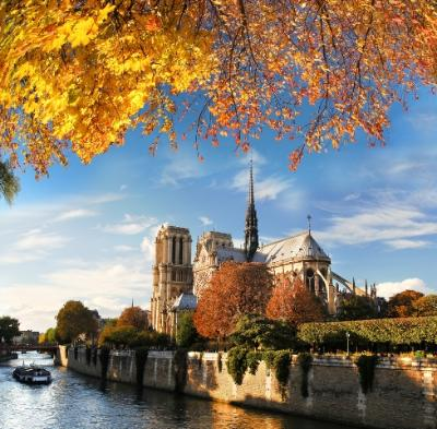 Fall Weather in Paris France