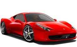 Exotic Car Rental Featured Ferrari 458 Italia Spider