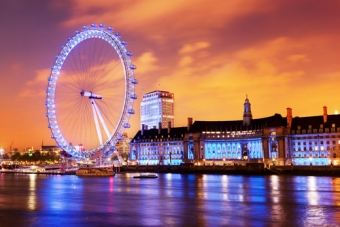 Atracciones en Londres: London Eye