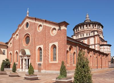 Milan Italy Attractions: Church of Santa Maria delle Grazie by Auto Europe