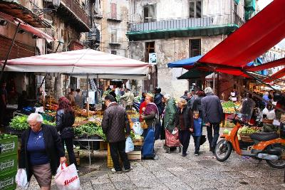 Sicily, Italy Attractions: Palermo Street Markets by Auto Europe
