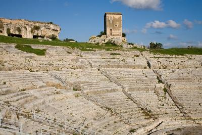 Sicily, Italy Attractions: Syracuse Greek amphitheater by Auto Europe