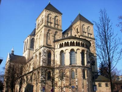 Things to See in Cologne Germany St. Kunibert Church